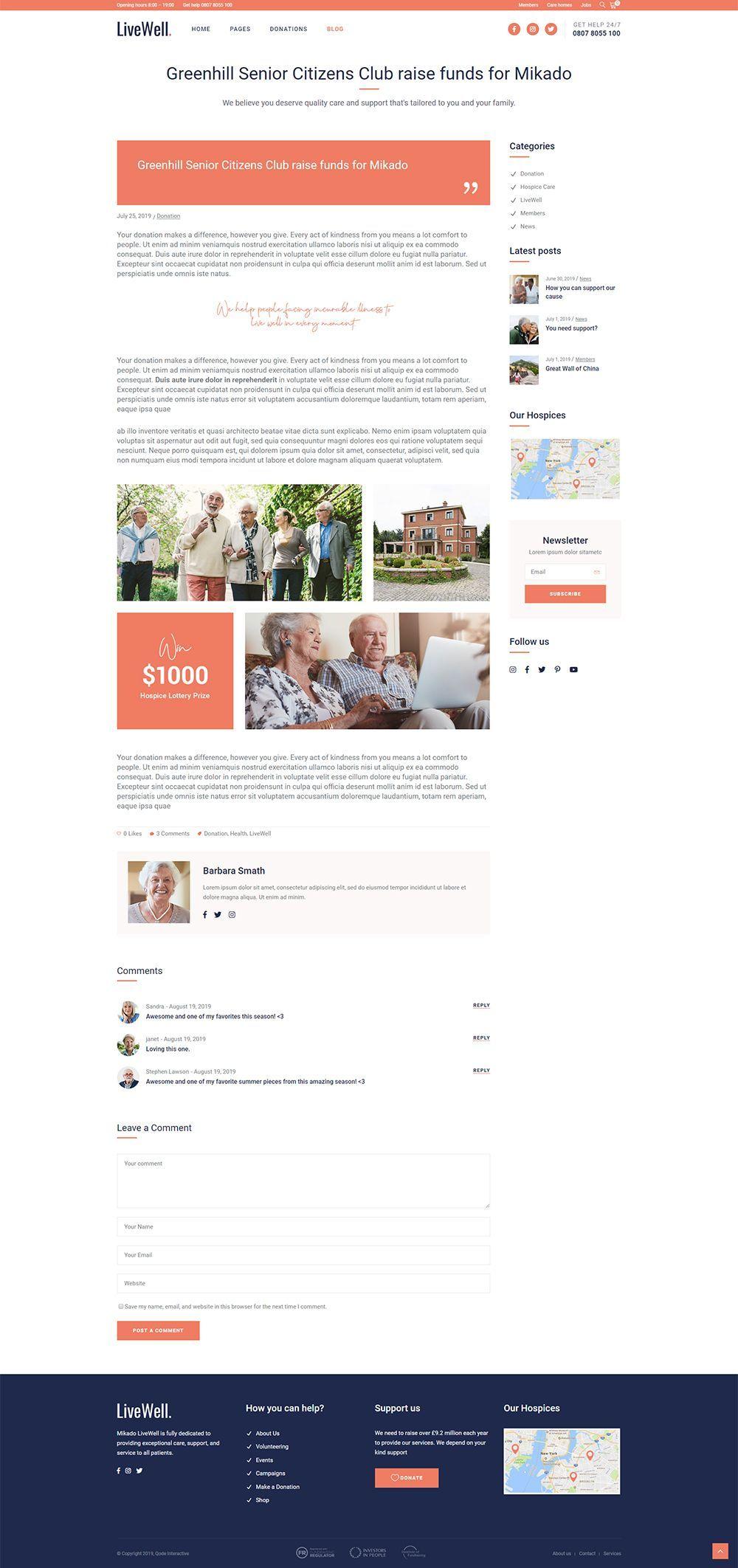 Greenhill Senior Citizens Club Raise Funds For Mikado