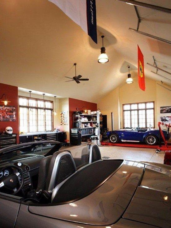 Nice Garage Uh Luxury Garage Garage Interior Garage Design Interior