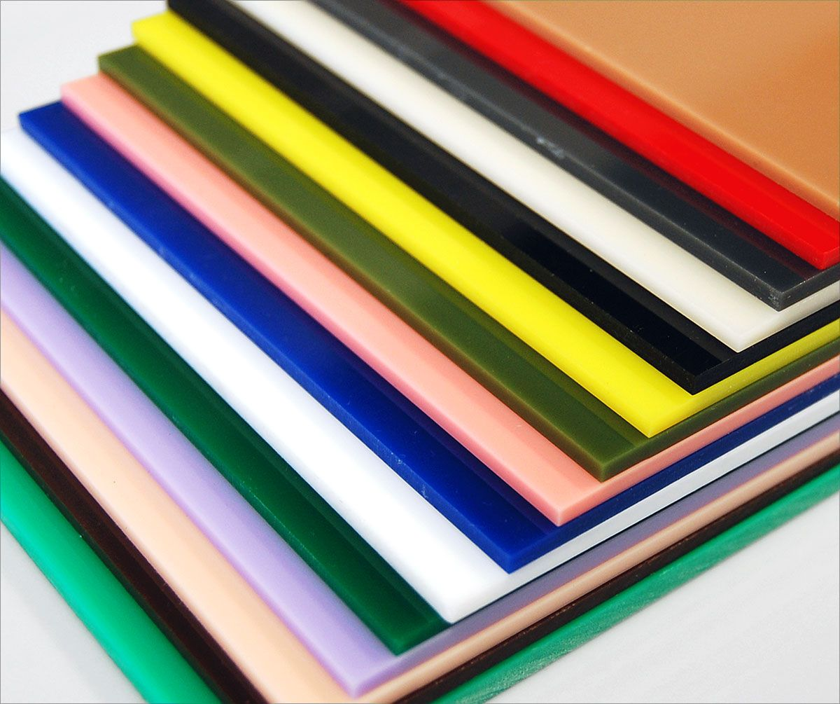 Colored cast acrylic sheet - Translucent And Opaque Colored Cast Acrylic Chemcast