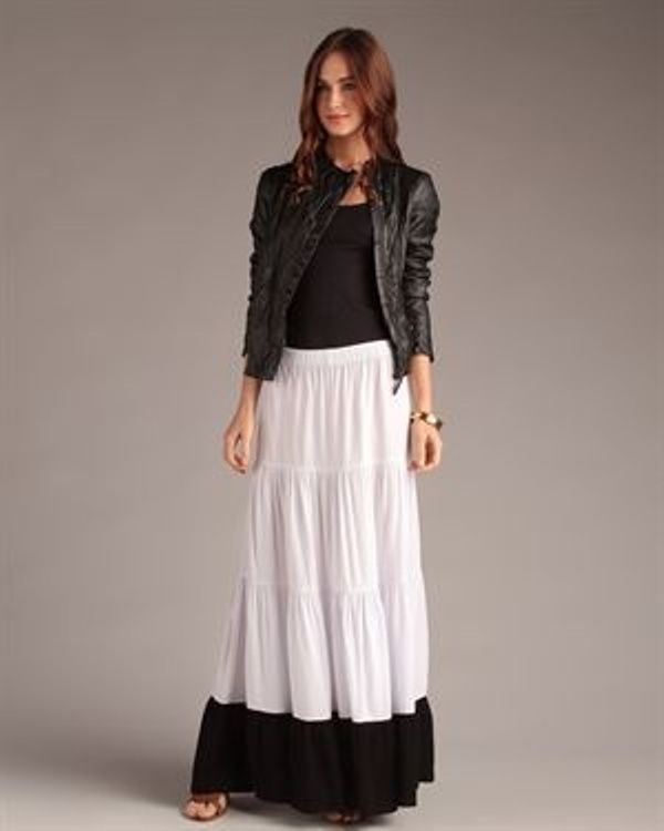 Black and White Maxi Skirt | Henna Mehndi Designs | Pinterest ...