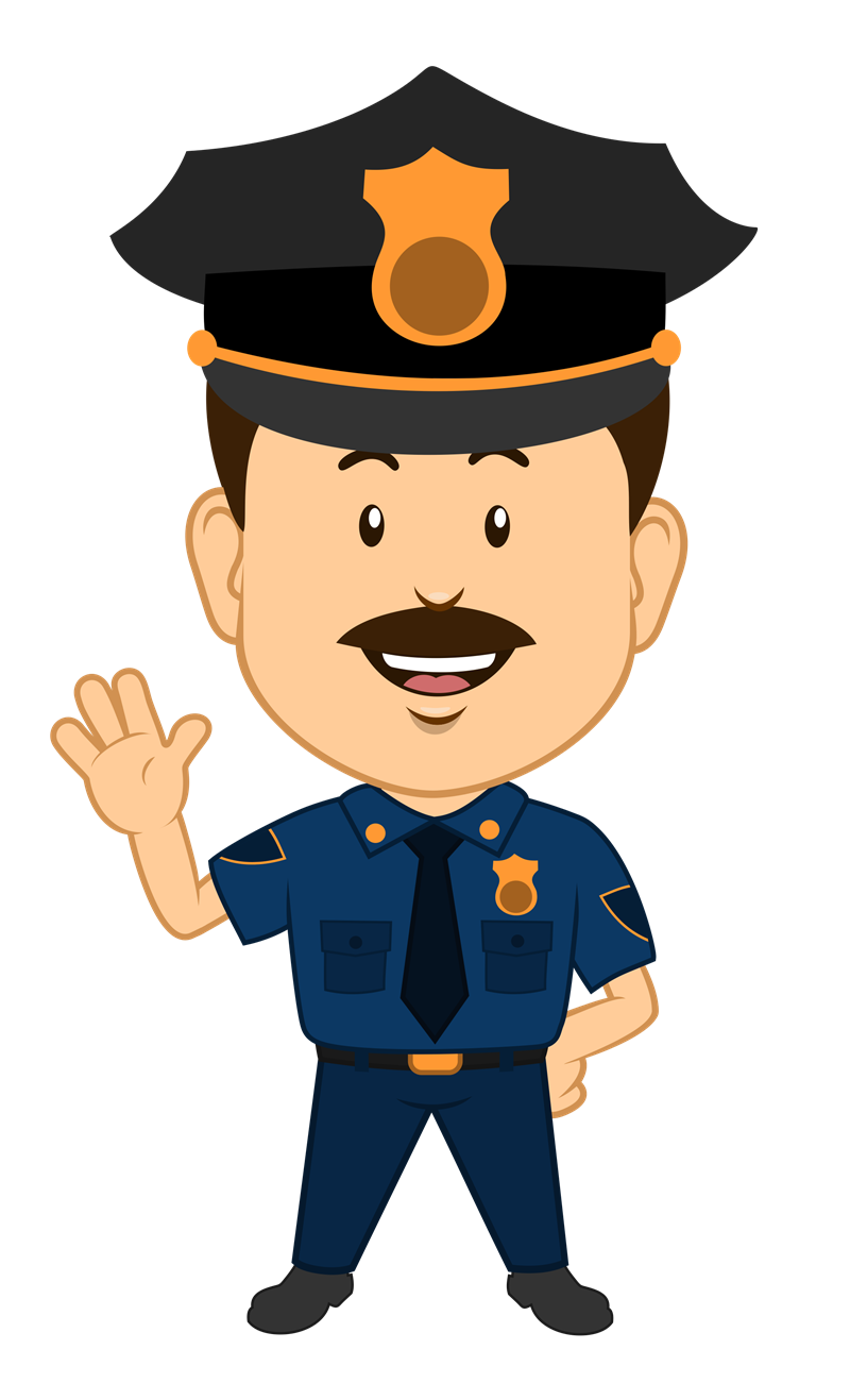 Www Bing Com1 Microsoft Way Redmond: This Cute Cartoon Clip Art Of A Policeman Is Free For Use