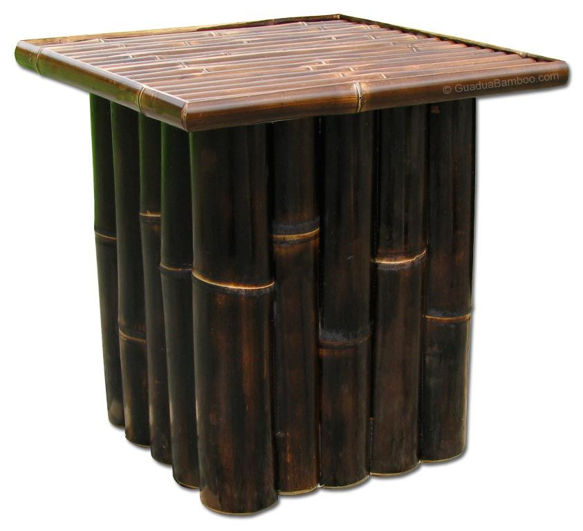 Bagaces Bamboo Side Table