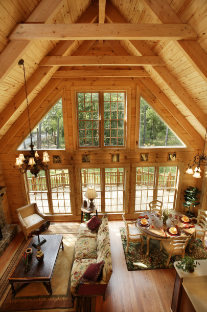 Featured Log Home 5 Southland Log Homes Southlandloghomes