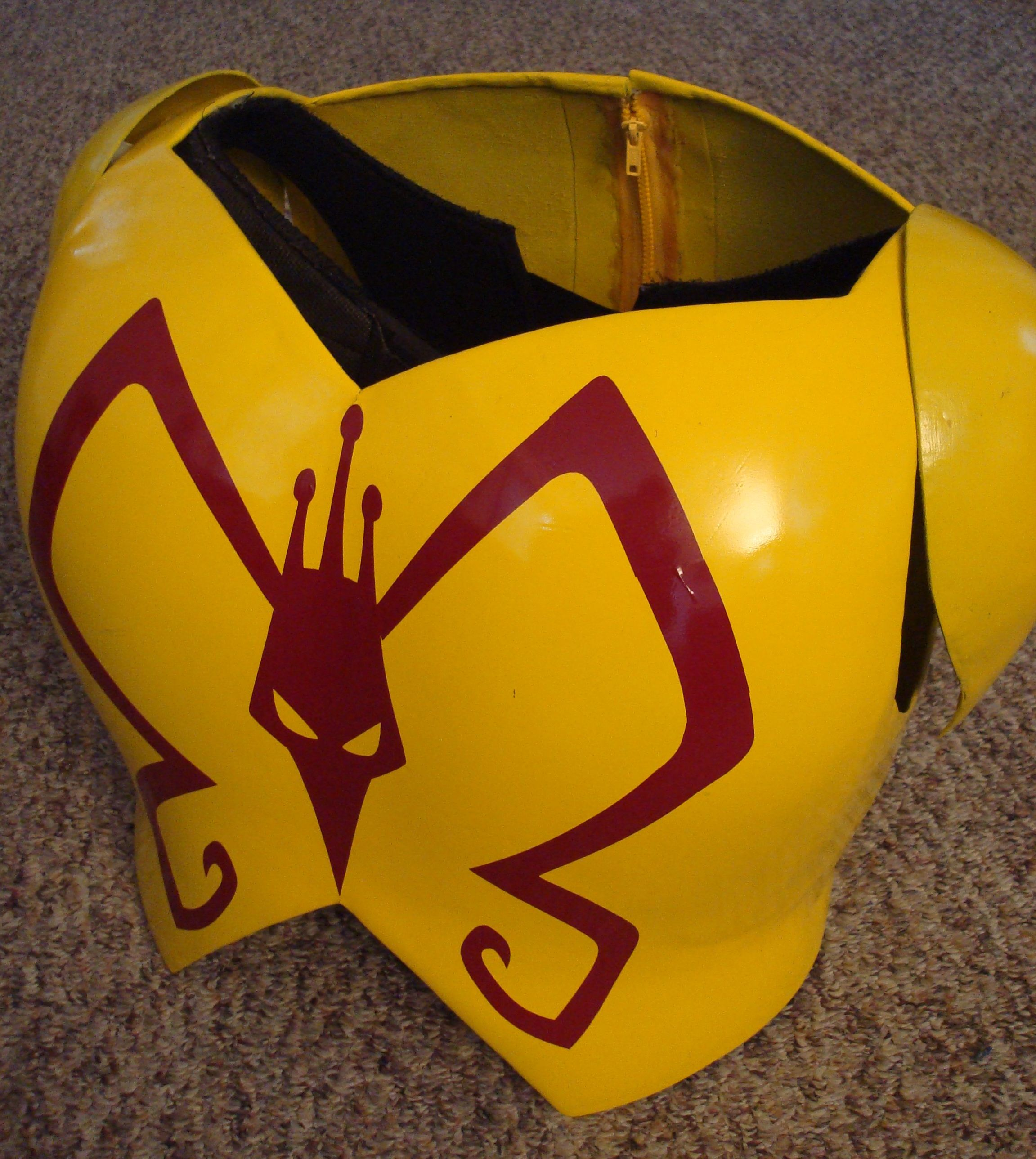 Venture Brothers Cosplay - Monarch chest armor tutorial