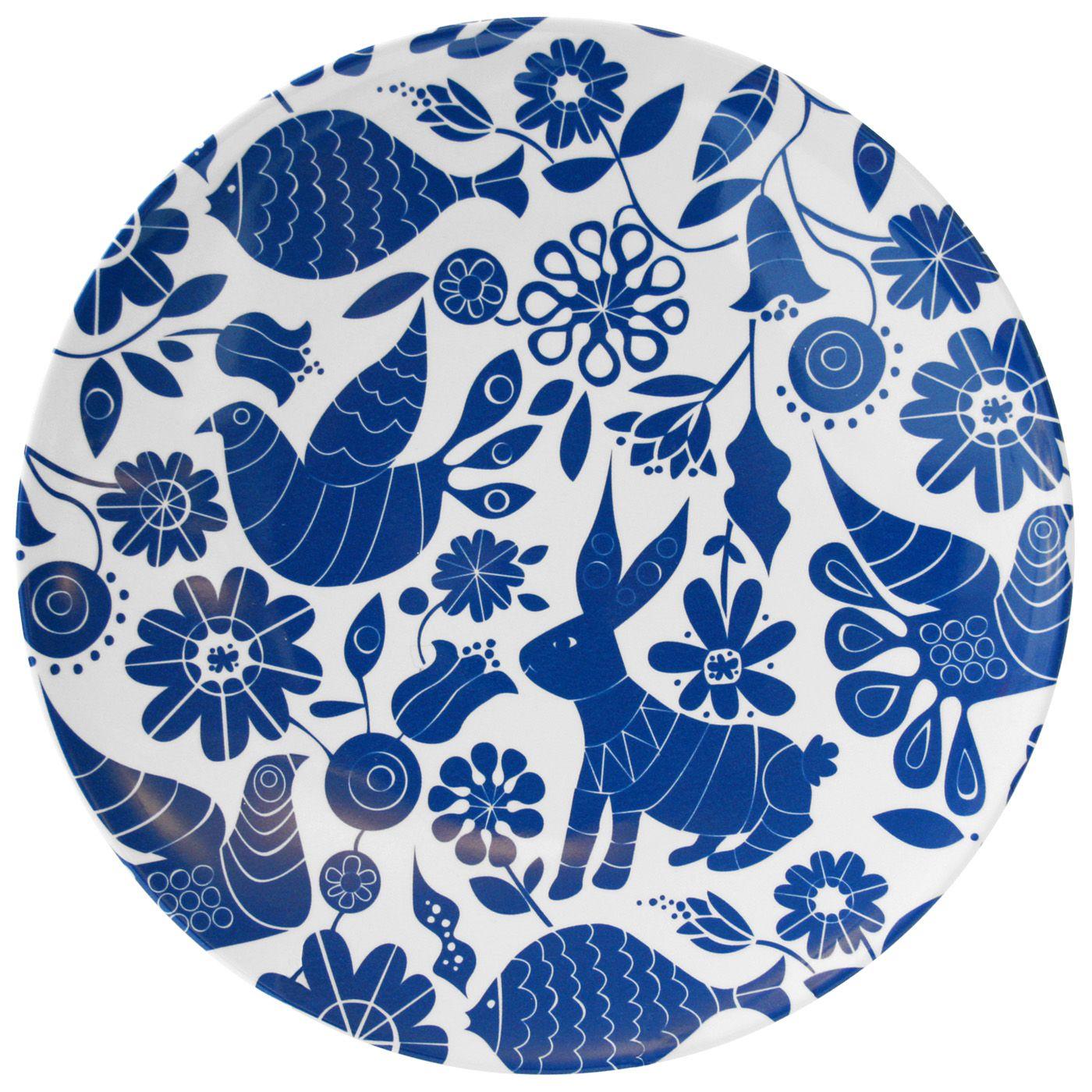 Acapulco dinner plate : Jonathan Adler | blue | white | Pinterest ...