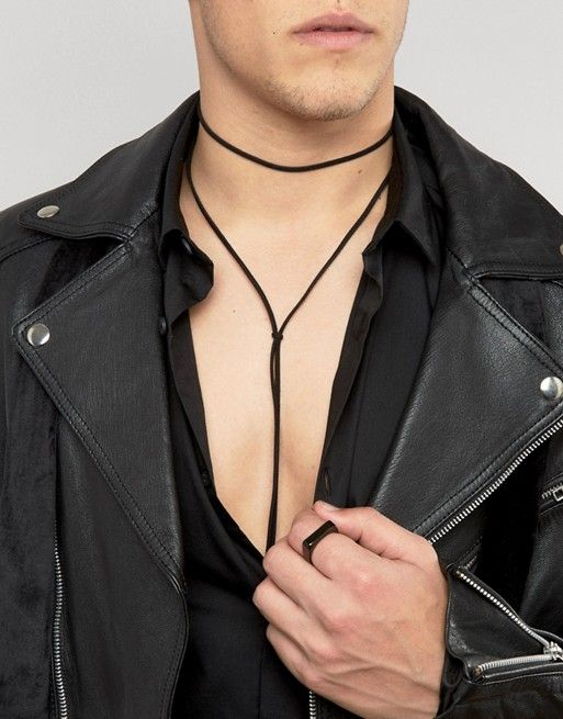 Chokers For Men Asos Mens Fashion Inspiration Men Choker Mens Fashion Dressy