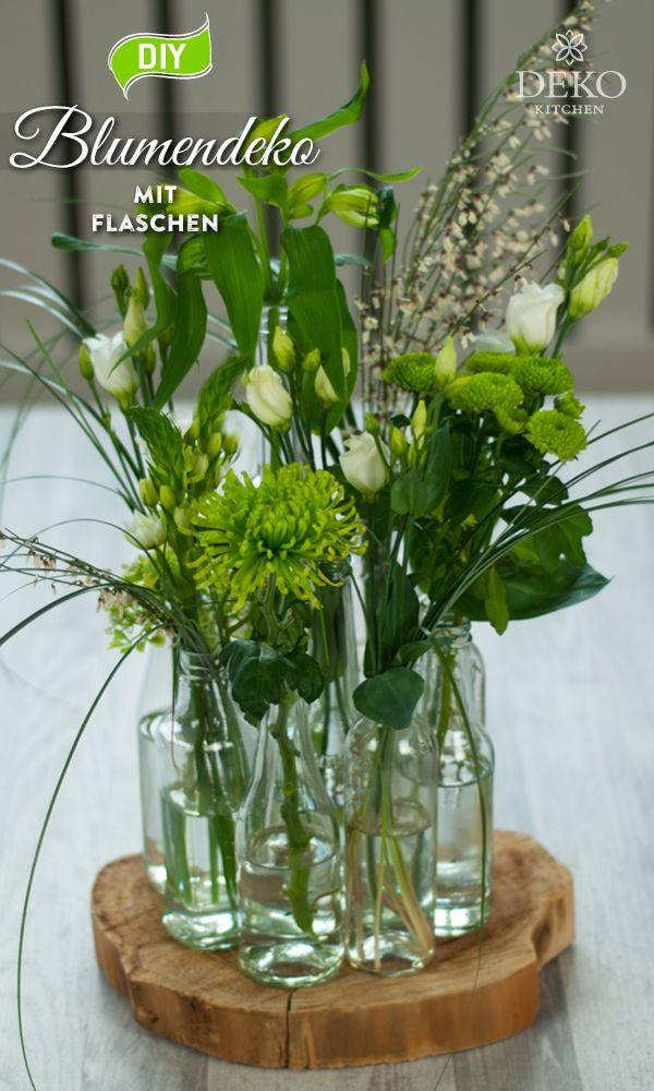 DIY: ausgefallene Blumendeko schnell & einfach selbermachen