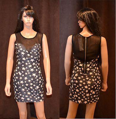 #dress #star #shine #fashion #mesh #celebrity #celebritystyle Star print mesh bodycon dress only £7.99