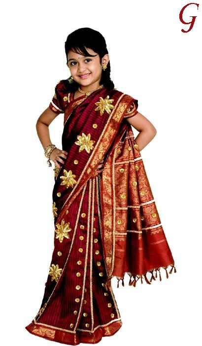 c14d6db19 Cute Saree baby photos - IndianTraditional beauty