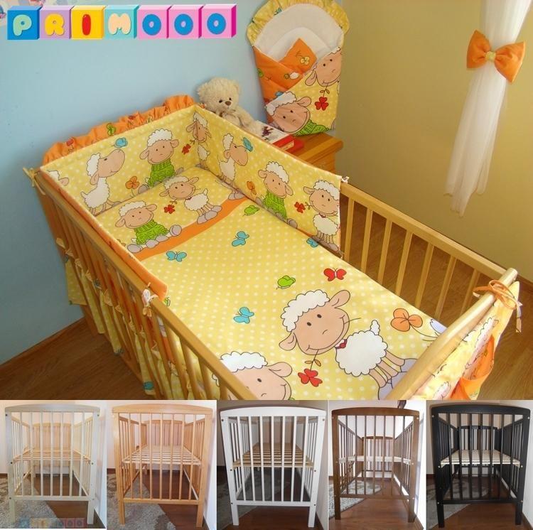5 Kolorow Lozeczko Dzieciece Materac Posciel 4098438516 Oficjalne Archiwum Allegro Toddler Bed Bed Cribs
