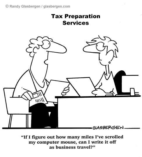 Tax Preparation humor