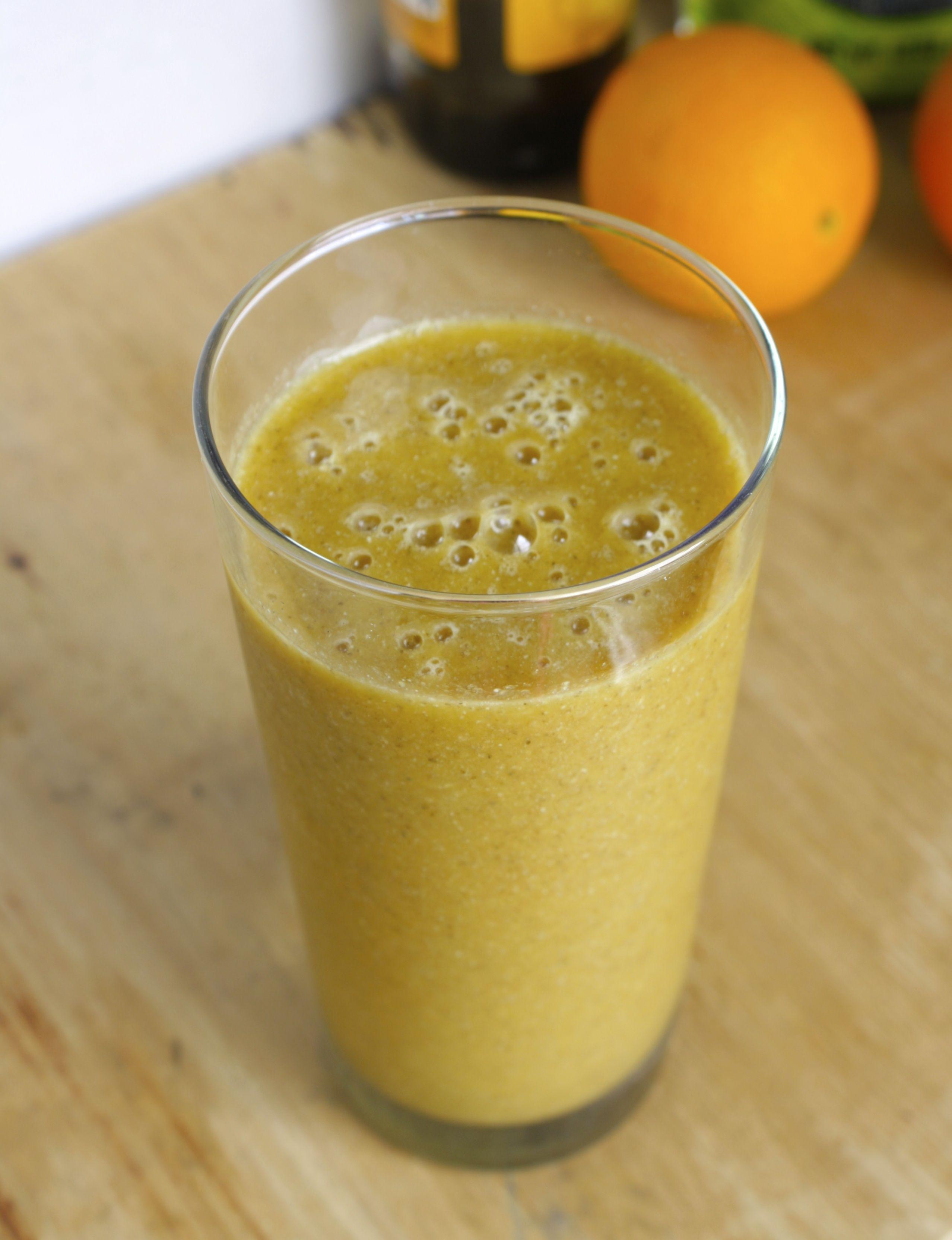 Iron Boosting Orange Juice