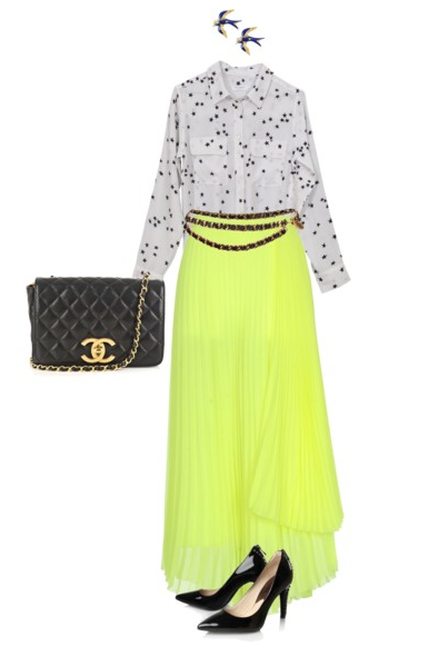 Neon  http://thedailystyling.wordpress.com/