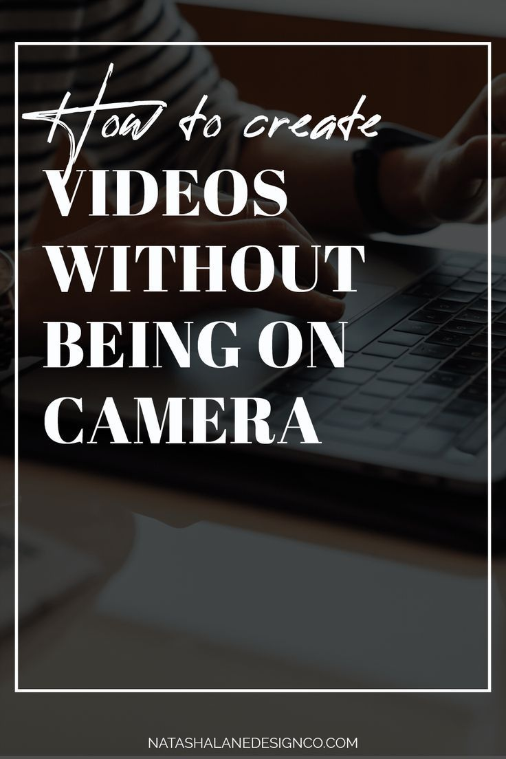 Hate being on camera? You know you should create videos, but you don't want to be on camera. If you're camera shy, then here are some tips on how to create videos without being on camera.    #SmallBizTips #Entrepreneurship #Creatives #creativepreneur  #youtube #youtubeforbusiness #videomarketing #youtubemarketing  #businesstips #entrepreneur #growyourbusiness