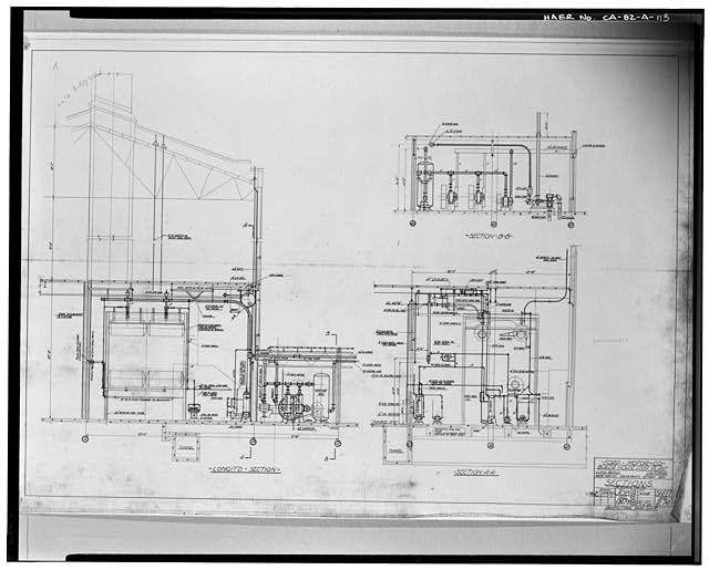 113 Job No 1347 K Sheet 2m 1929 Ford Motor Company Boiler