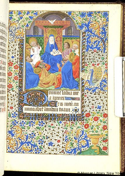 Book of Hours, MS M.1055 fol. 68r - Images from Medieval and Renaissance Manuscripts - The Morgan Library & Museum Rouen 1465-1470