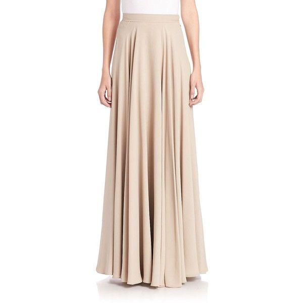 Bridal Shoes Saks: Ralph Lauren Collection Women's Darlene Silk Maxi Skirt