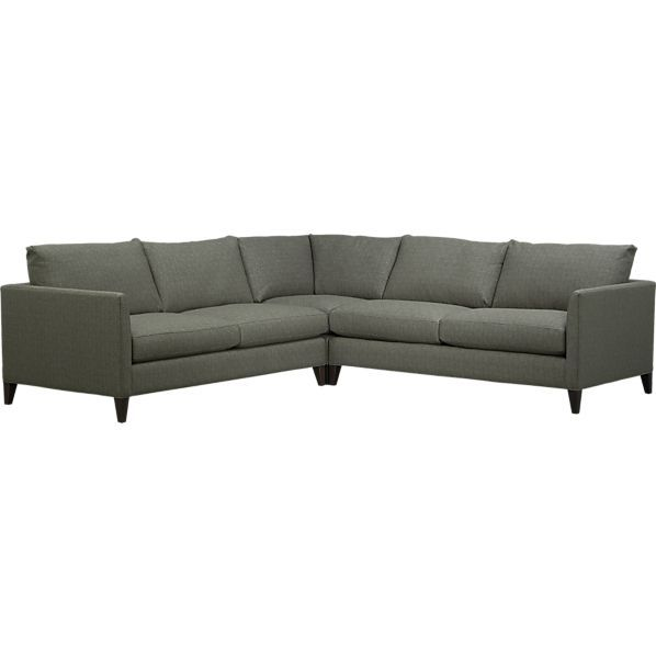 Crate Barrel Klyne Ii Sectional 3499 Oturma Odasi