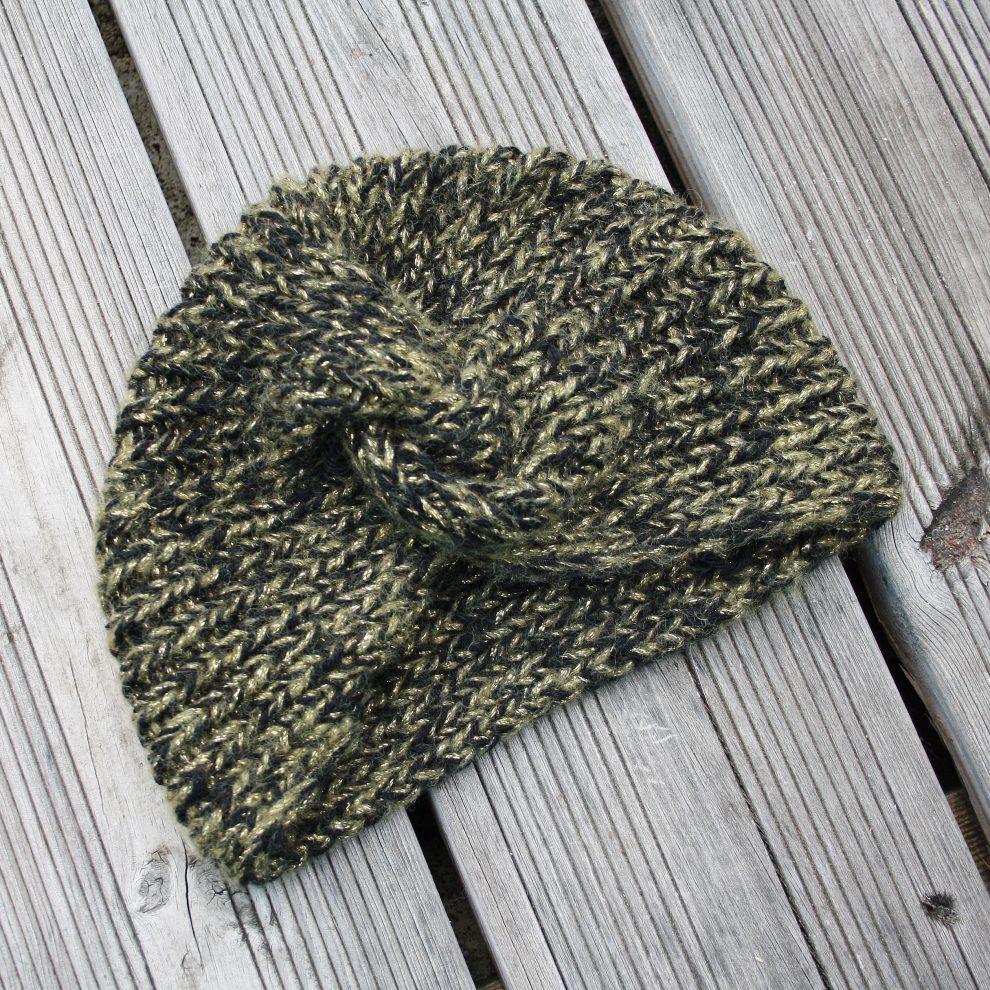 96eb7e8e230a Huguette paillette Tuto turban   Couture   Pinterest   Tricot ...