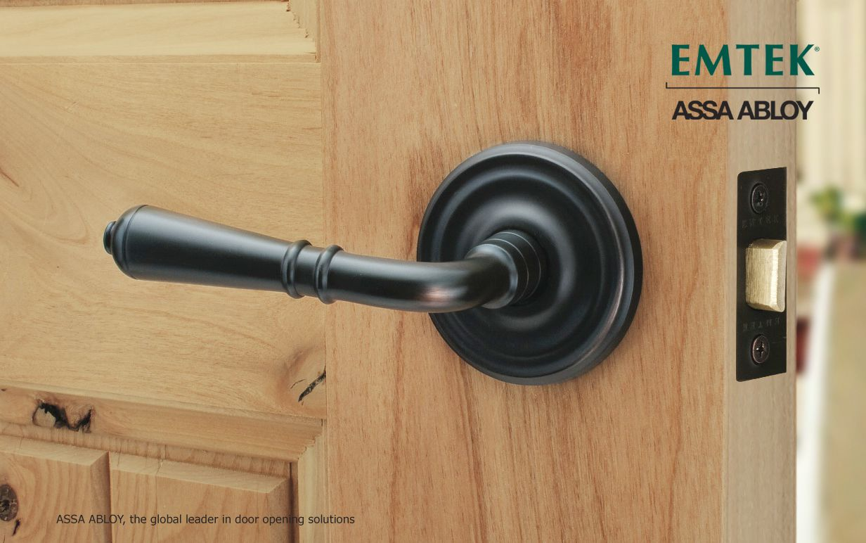 The Turino Lever By Emtek Is Forged From Durable Brass And