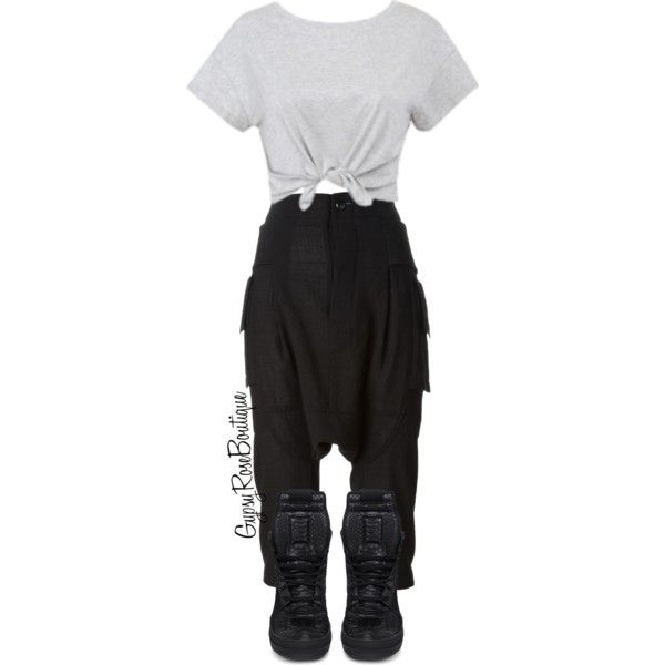 #75 by gypsyroseboutique on Polyvore featuring polyvore fashion style Rick Owens
