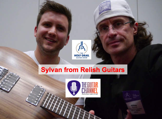 Relish Guitars are made out of aluminium. I had already heard about their product and thought it was interesting to learn some more about their technology.