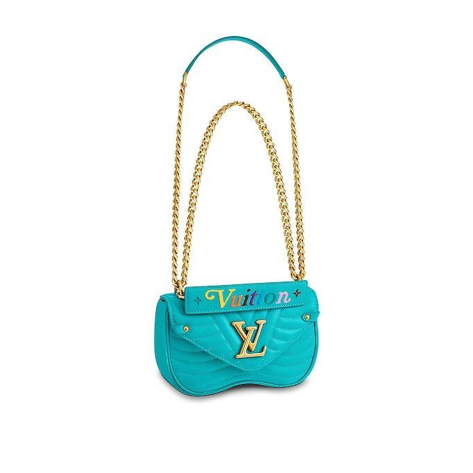 ea29cc135f60 View 1 - LV New Wave Leather HANDBAGS Top Handles Louis Vuitton New Wave  Chain Bag PM