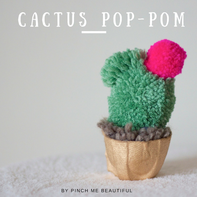 30 DIY Cactus Crafts Not From the Dessert #cactuscraft