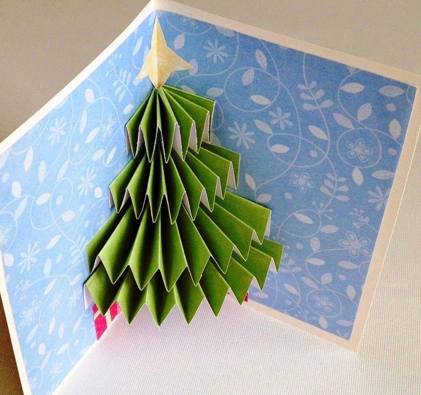 Tutoriales Un lugar para Terapiarte Árboles de Navidad hechos por