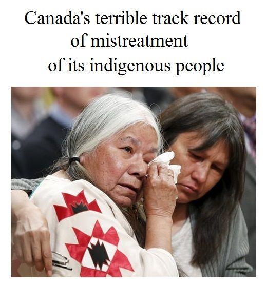 Canada's continuing racism - https://www.theguardian.com/world/2017/nov/04/indigenous-children-canada-welfare-system-humanitarian-crisis #CanadaFirstNation