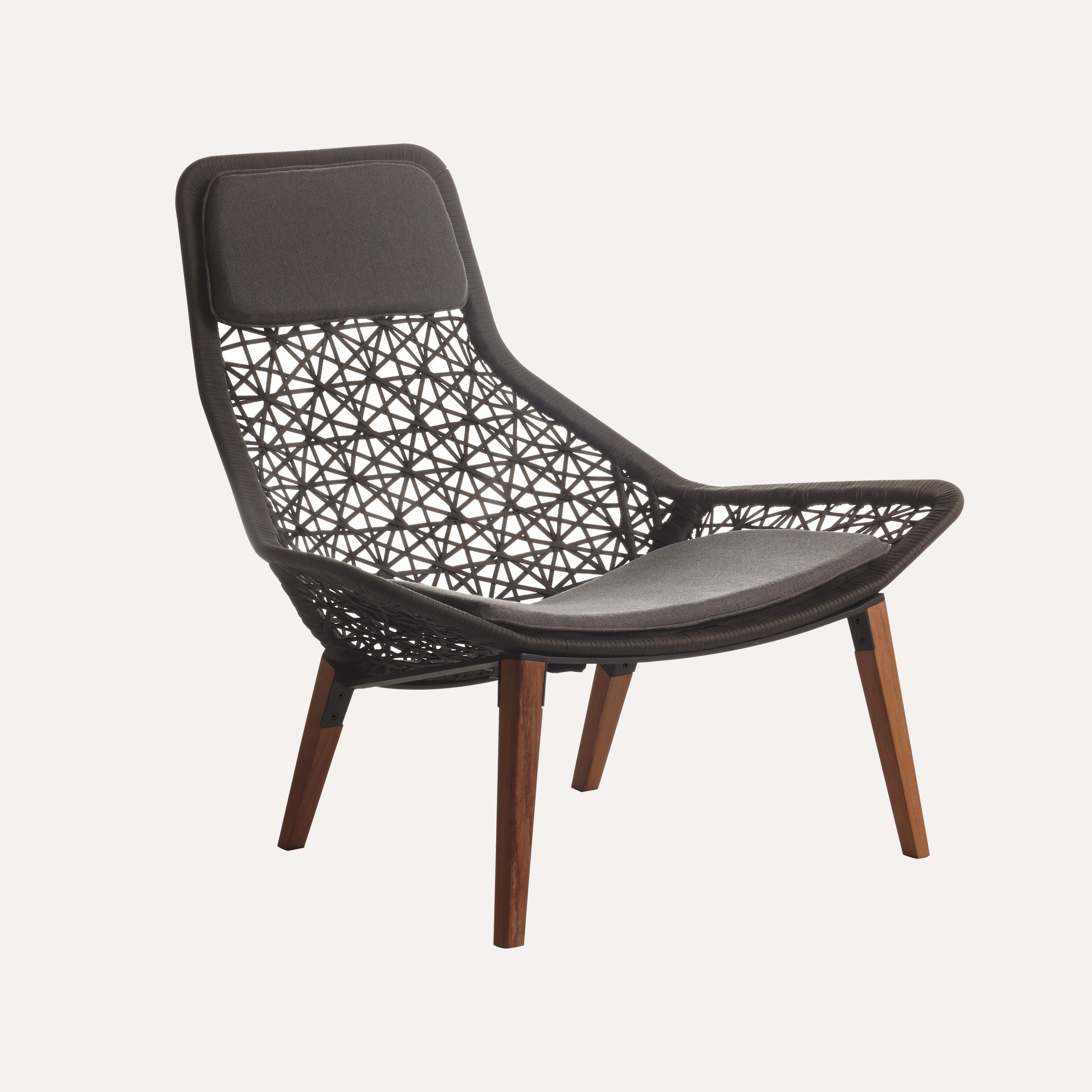 Outdoor kettal maia relax armchair maia rope 22 for Kettal maia chair