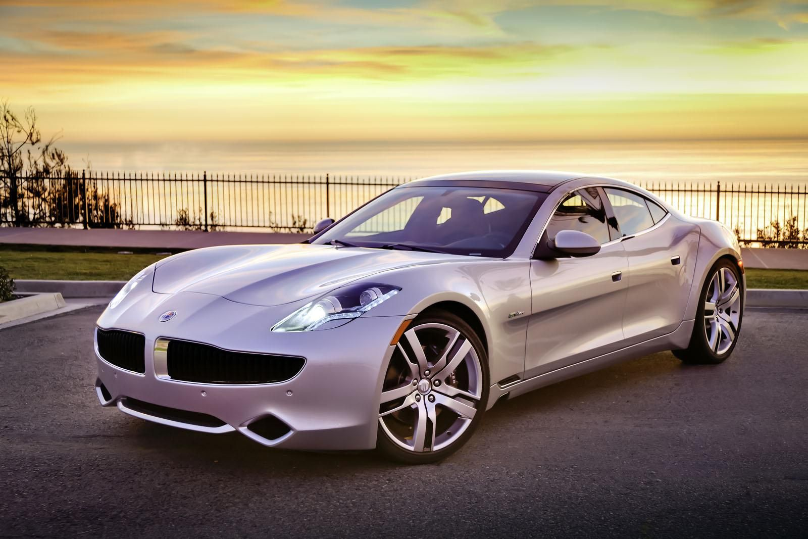 Fisher Karma Electrnic Car Pictures Fisker Karma Goes Into