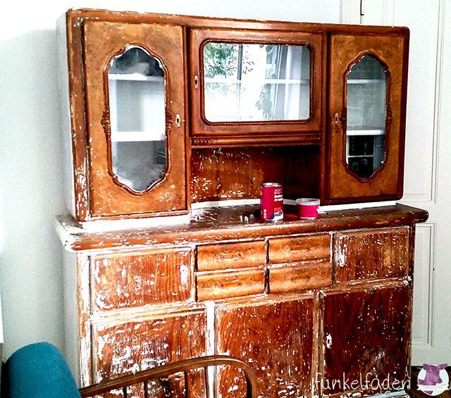 altes k chenbuffet neu streichen diy anleitungen tutorials pinterest k chenbuffet. Black Bedroom Furniture Sets. Home Design Ideas
