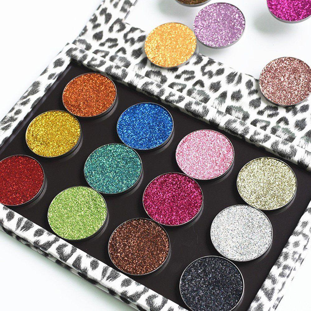 DIY Empty Makeup Palette Professional Leopard