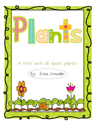 Sprinkles to Kindergarten!: Plants Unit Updated with more!!