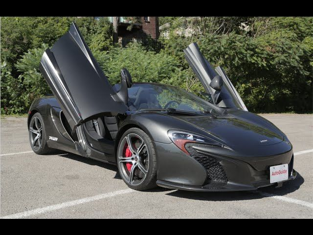 2015 McLaren 650S Spider Review