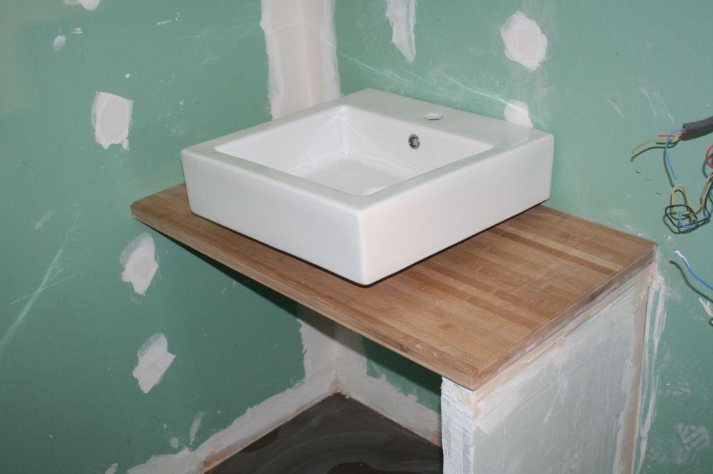 Meuble Salle De Bain Plan Travail Emejing Comment Fabriquer Un Travaux Salle De Bain Meuble Salle De Bain Meuble De Salle De Bain