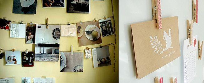 Ideas para colgar fotos sin marcos halkpaint pinterest - Marcos de fotos para colgar ...
