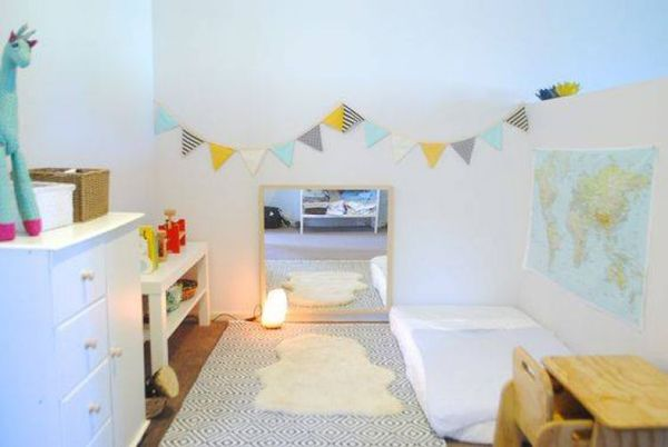 15 Safe And Cozy Kids Floor Bed Ideas Montessori Infant Room Montessori Bedroom Toddler Bedrooms