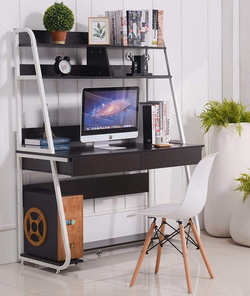 Multi Functional Computer Desk Bookshelf Desk Functional Computer Desk Small Computer Desk