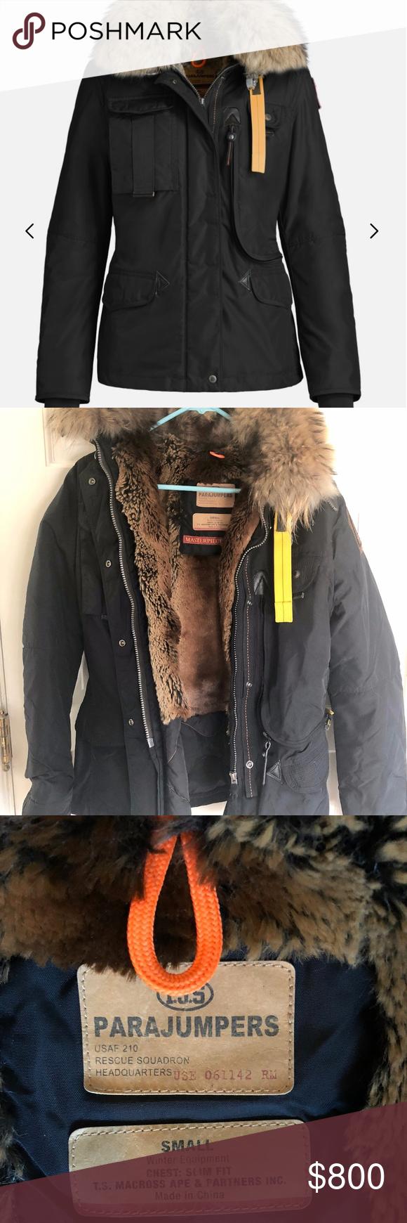 parajumpers fur inside