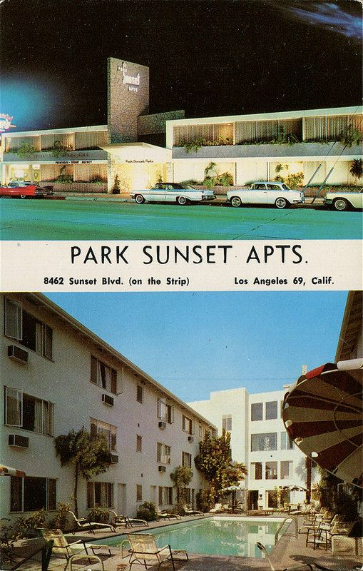 Rooms: Park Sunset Apartments, Los Angeles, California
