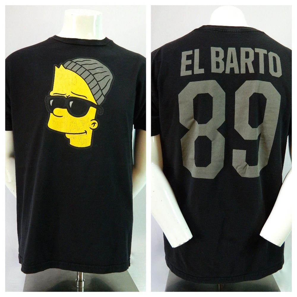the simpsons bart el barto neff graphic