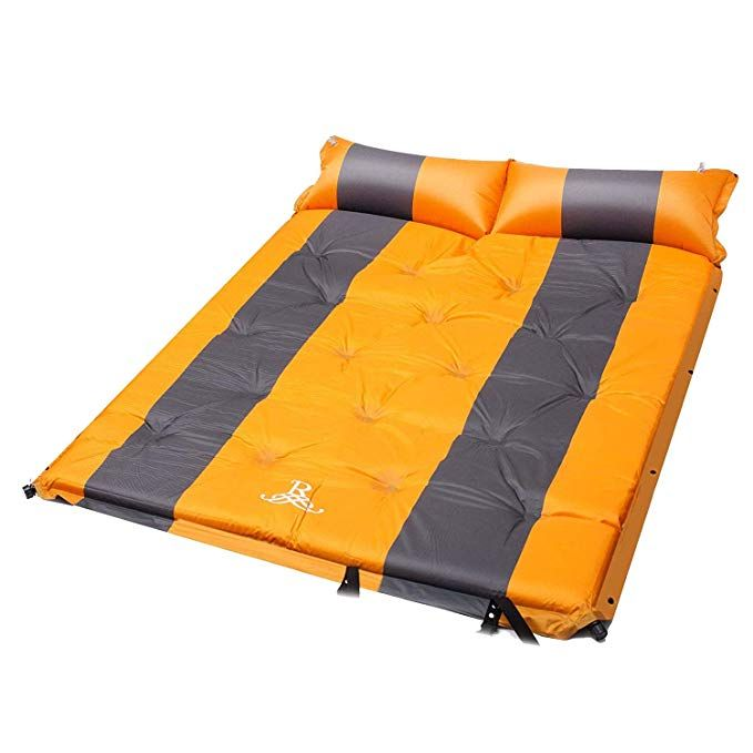 BELLAMORE GIFT Self-Inflating Sleeping Pad with Armrest