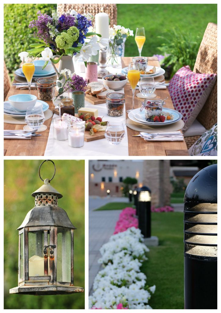Bring your Garden to Life at Night with Lights - Love Chic Living