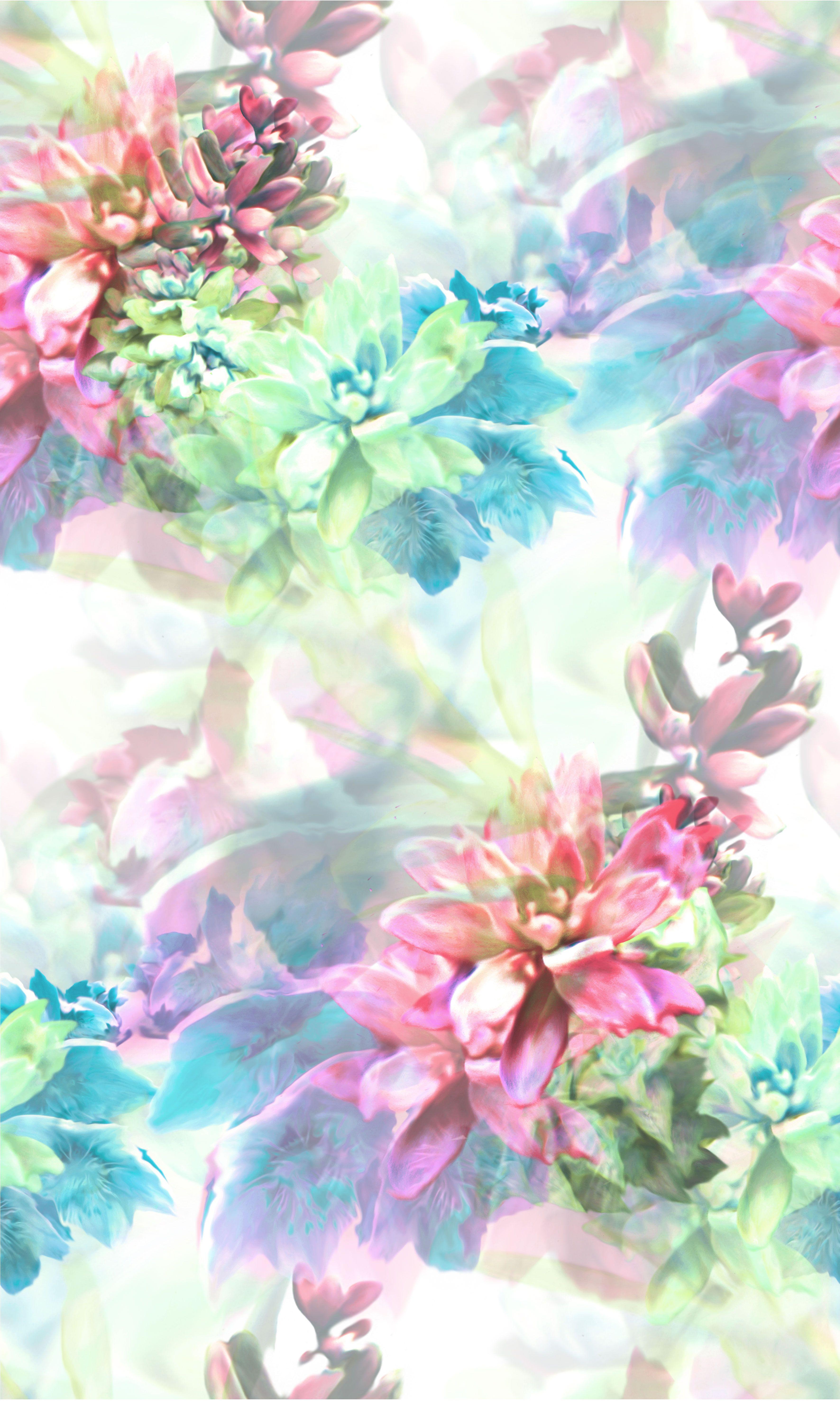 prints floral backgrounds spring pastel flower patterns cool textile pretty colors visit colours