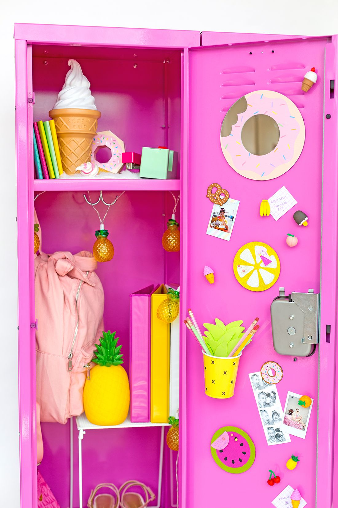 Colorful Diy Locker Decoration Ideas School Locker Decorations Locker Decorations Diy Cute Locker Decorations