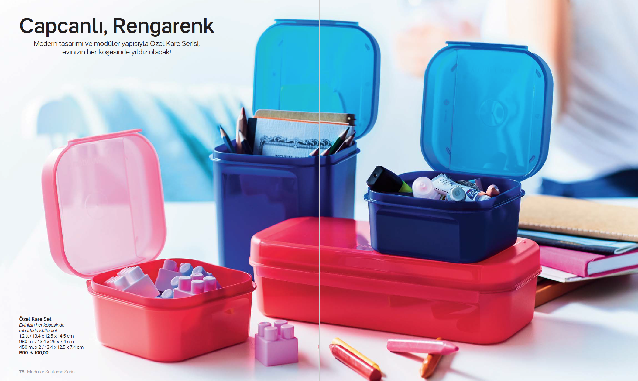 Tupper Küchenchef ~ Containers storage office back to school tupperware things