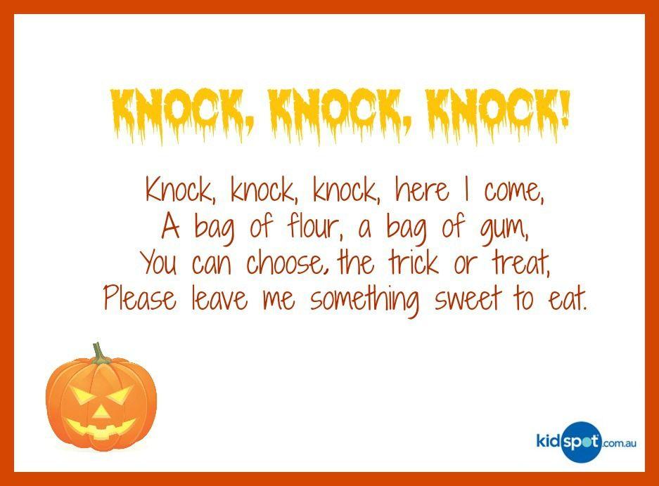 halloween poems - Cute Halloween Poem