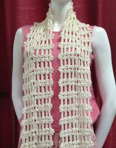 Easy Crochet Scarf 2 Crocheting Pinterest Crochet Easy